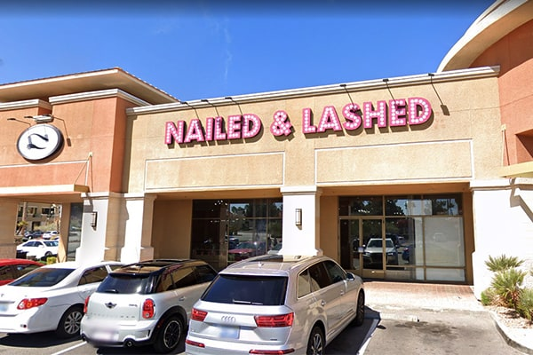 Nail Salon Las Vegas - Nailed & Lashed Store